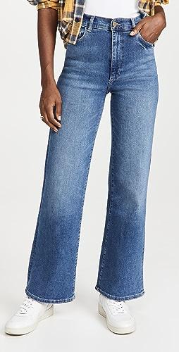 DL1961 - Hepburn Wide Leg Vintage Jeans