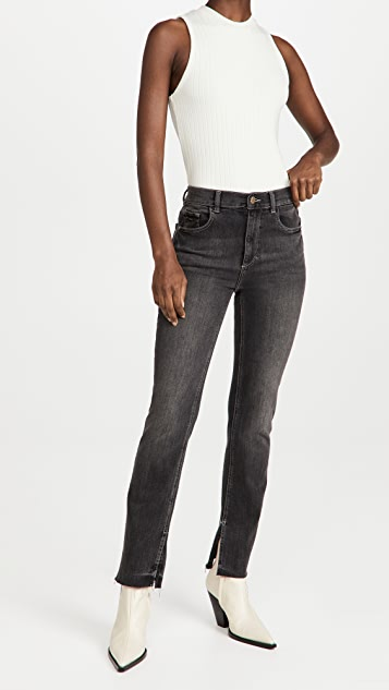 DL1961 Patti Straight High Rise Jeans