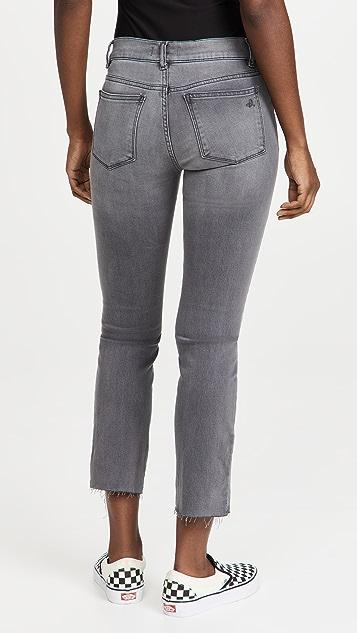 DL1961 Mara Straight Mid Rise Jeans