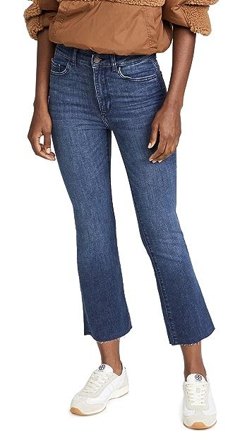 DL1961 Bridget High Rise Crop Jeans
