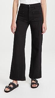 DL1961 Hepburn Wide Leg High Rise Jeans