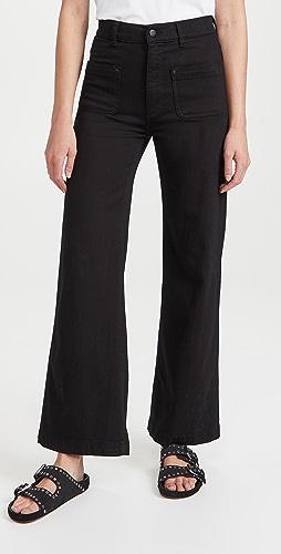 DL1961 - Hepburn Wide Leg High Rise Jeans