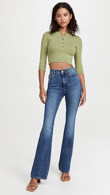 DL1961 High Rise Bridget Boot Instasculpt 33' Jeans