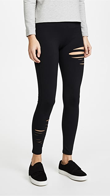 David Lerner Half Ripped Leggings