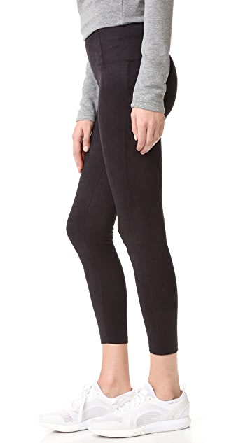 David Lerner Elliot Microsuede Leggings