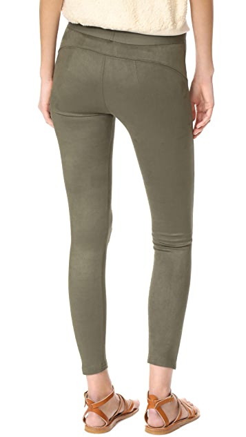 David Lerner Microsuede Barrow Leggings