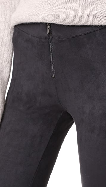 David Lerner Front Zip Leggings