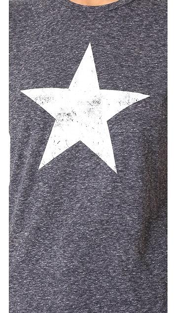David Lerner Big Star Crew Neck Tee