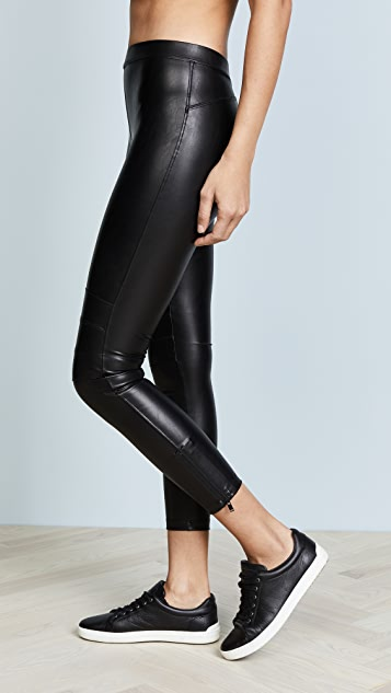 David Lerner Ankle Zip Moto Leggings