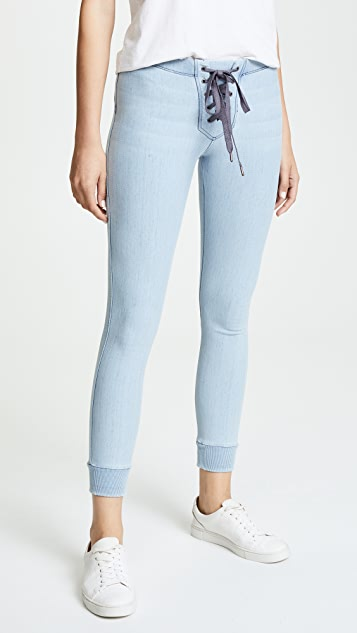 David Lerner Lace Up Joggers