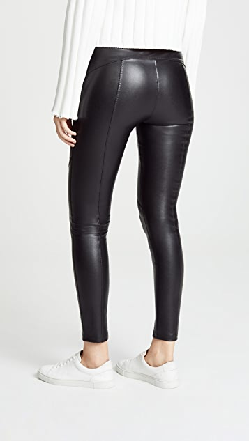 6551ec61a1b08 David Lerner The Bergen Vegan Leather Pants | SHOPBOP