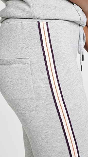 David Lerner Classic Joggers with Taping
