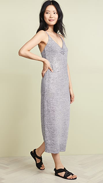 David Lerner Ruched Front Slip Dress
