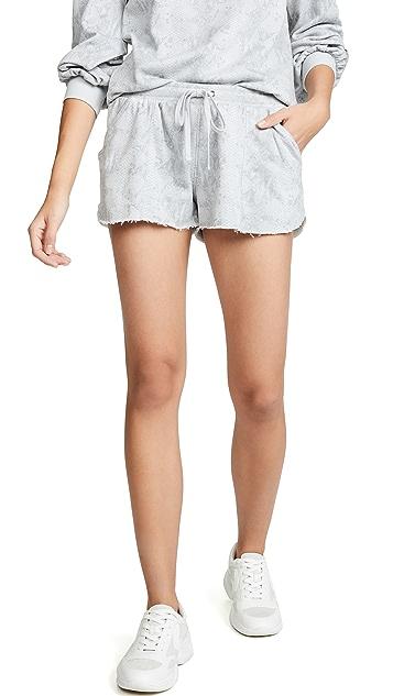David Lerner Pintuck Shorts