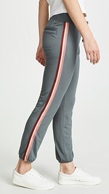 David Lerner Classic Joggers With Tape
