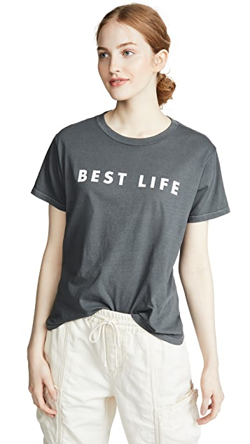 David Lerner Best Life Boyfriend Tee