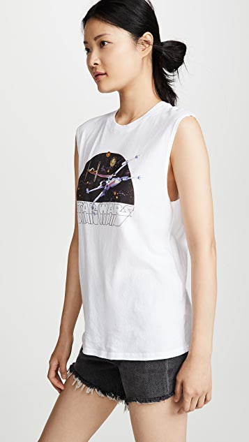 David Lerner Stars Wars X-Wing Muscle Tee