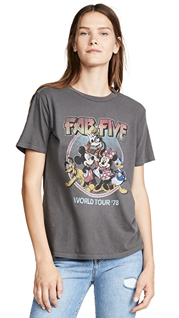 David Lerner Fab Five Boyfriend Tee