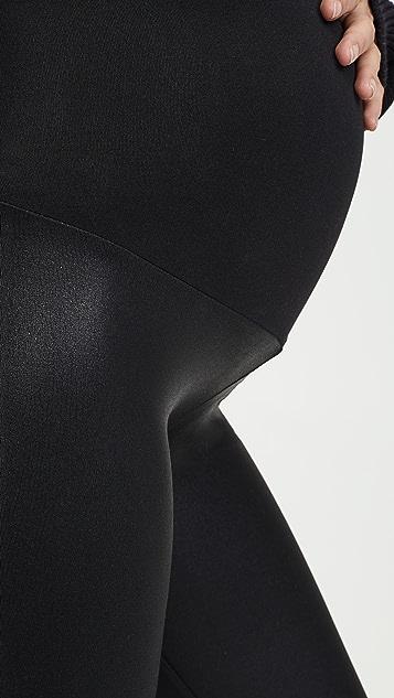 David Lerner 涂层孕妇装贴腿裤