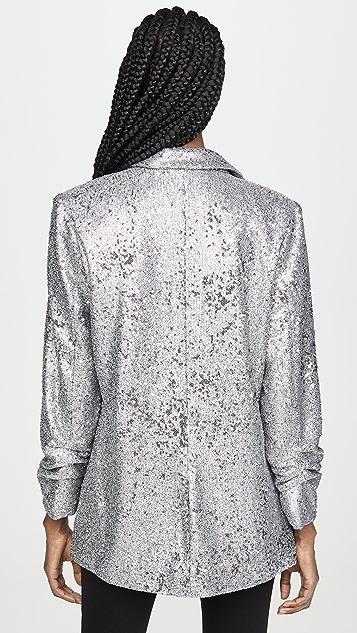 David Lerner Hailey Oversized Sequin Blazer