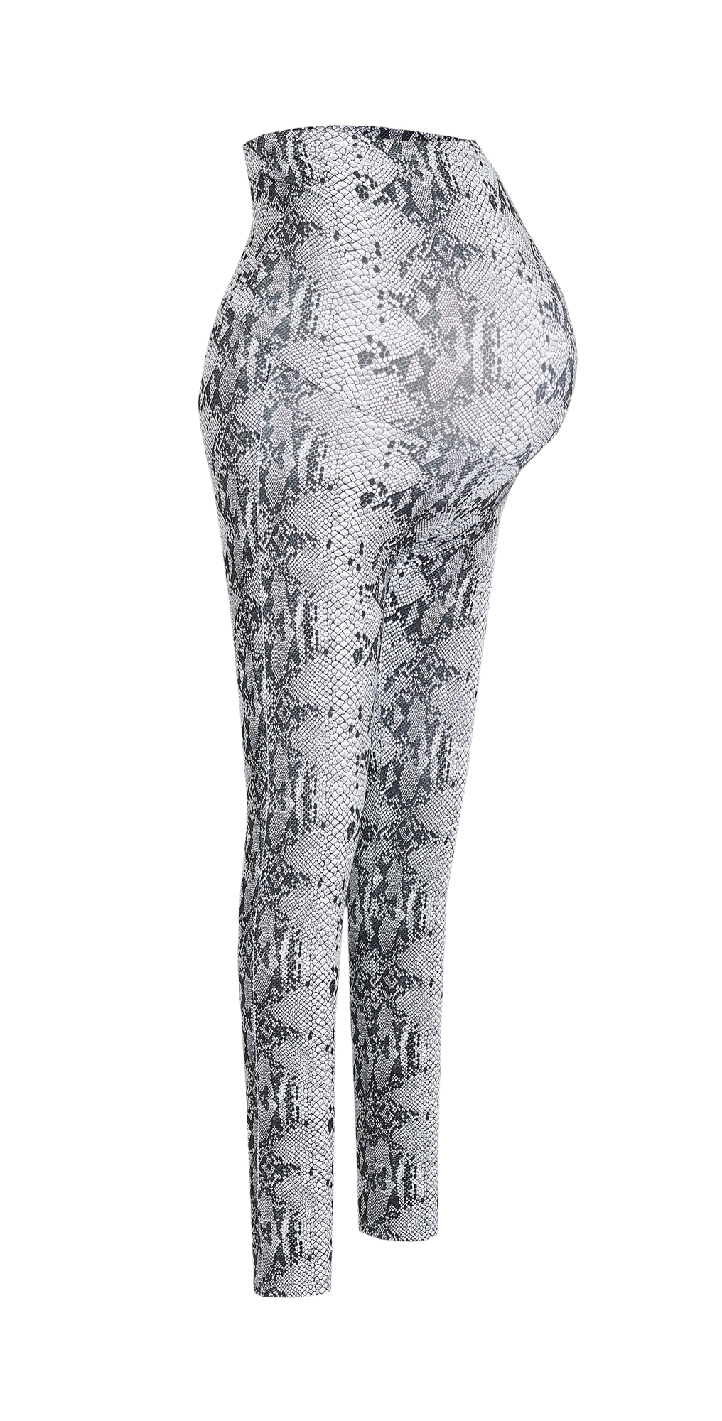 David Lerner Maternity Snakeskin Leggings
