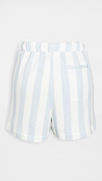 David Lerner Britta 毛圈布短裤