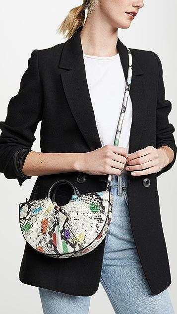 DLYP Миниатюрная сумка Bender со складками