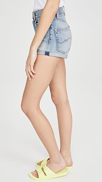 Denimist Kat Rolled Shorts