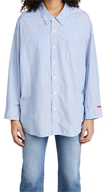 Denimist Button Front Shirt