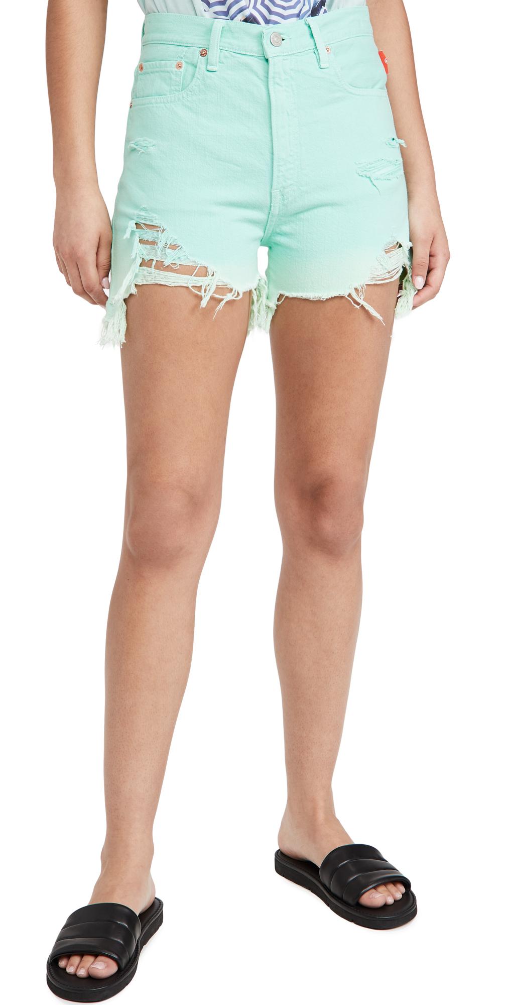 Nic Mid Rise Cutoff Shorts