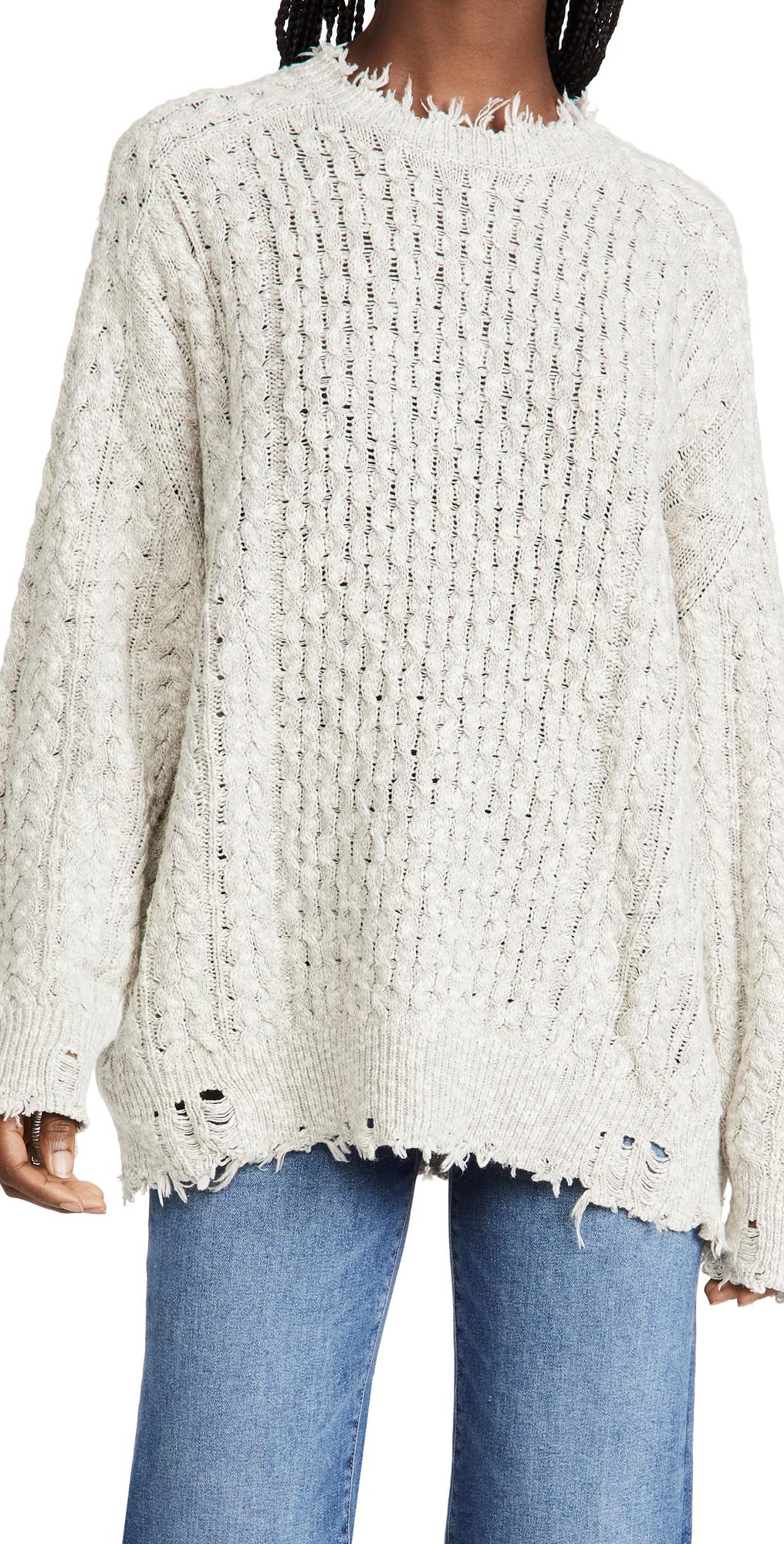 Oversized Aran Sweater