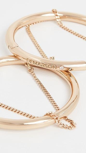 DEMARSON Riley 圈式耳环
