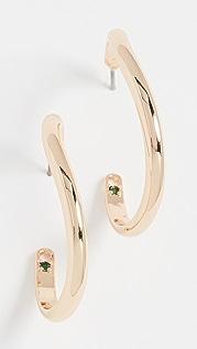 DEMARSON Mini Calypso Curve Hoops