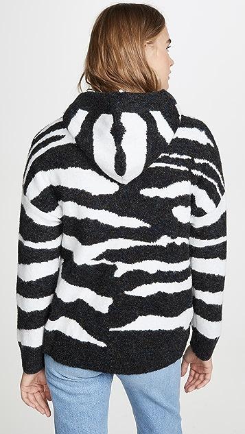 DNA Zebra 连帽上衣