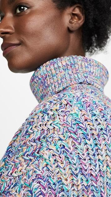 DNA 双色纱线毛衣