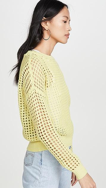 DNA Lime 钩针编织毛衣