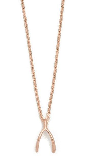 Dogeared Wishbone Necklace
