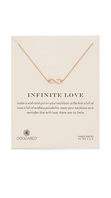 Dogeared Infinite Love Necklace