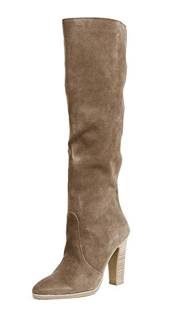 Dolce Vita Celine Knee High Stacked Heel Boots