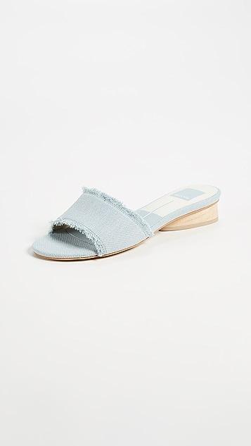 Dolce Vita Adalea Slides - Light Blue