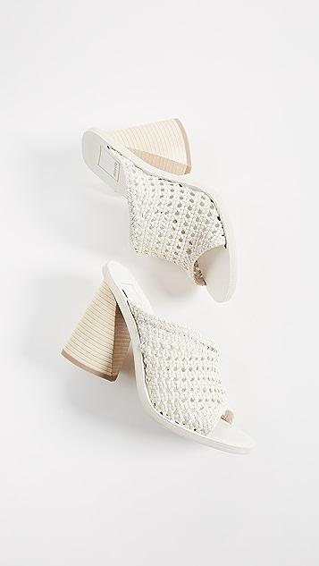 Dolce Vita Anton Woven Block Heel Sandals