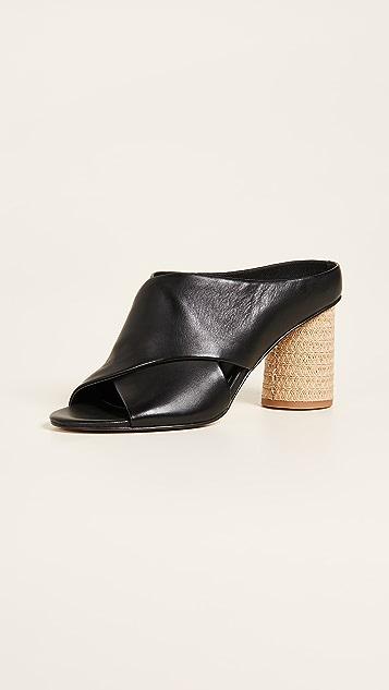 Dolce Vita Javi Block Heel Sandals - Black