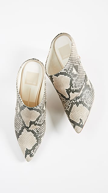 Dolce Vita Cinda Point Toe Mules