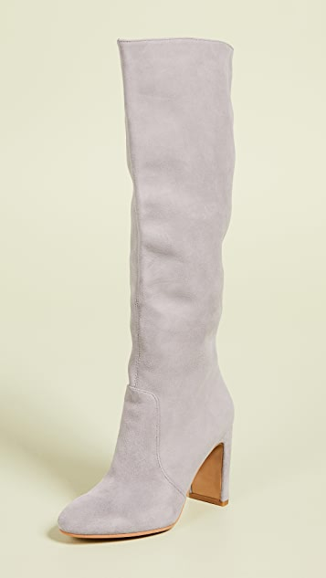 Dolce Vita Coop Tall Boots - Smoke