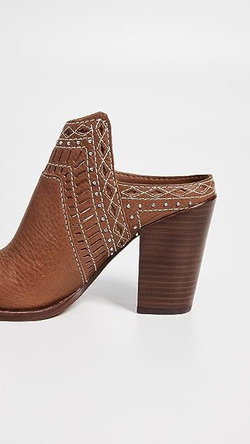 Dolce Vita Khia Block Heel Mules