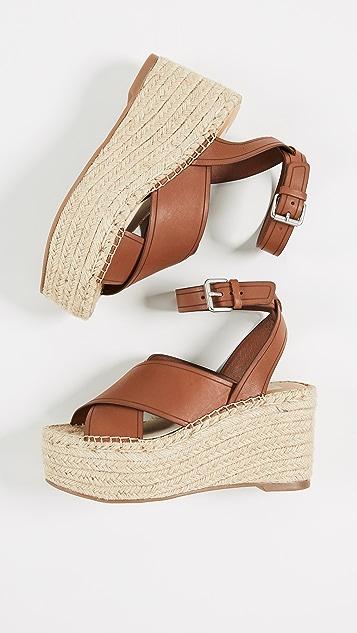 Dolce Vita Carsie Platform Espadrille Sandals