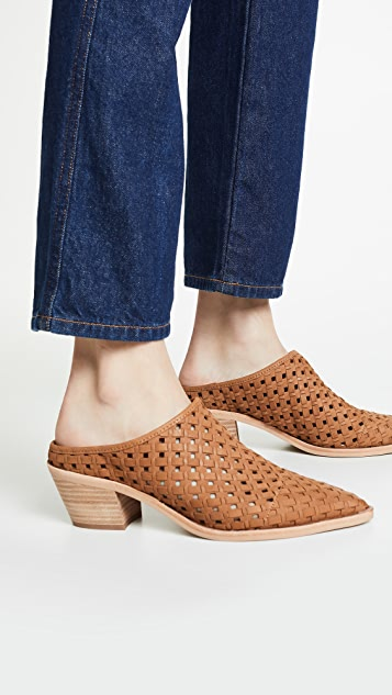 Dolce Vita Sayer Perforated Mules