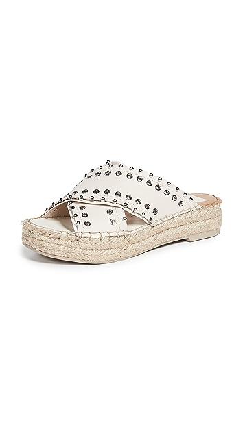 Dolce Vita Iva 交叉十字坡跟凉鞋
