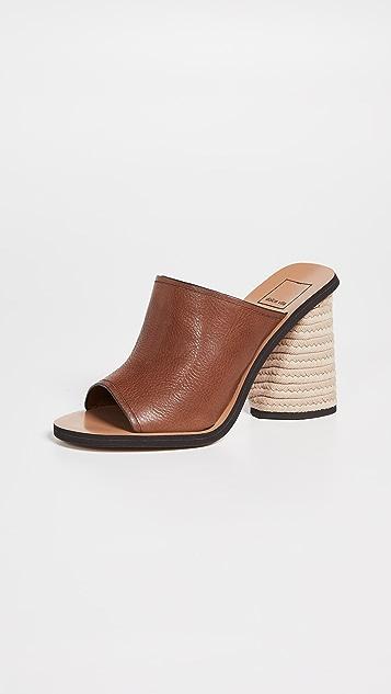 Dolce Vita Alba Block Heel Mules