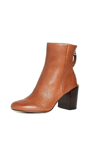 Dolce Vita Cyan 粗跟短靴